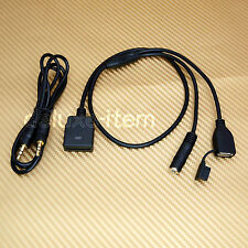 Stereo 3.5MM AUX input To iPod iPhone Dock Connector Female Cable Adapter 30-Pin