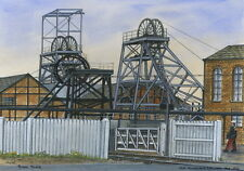 Old Roundwood Colliery - 1860 - 1966 - Ltd Ed Print - Pit Pics - Coal Mining
