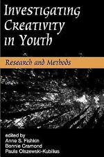 Investigating Creativity in Youth: Research and Methods (Perspectives on