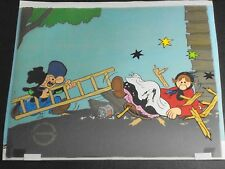 Barney Google and Snuffy Smith Hand Painted Ltd Ed Animation Cel  23/500 DeBeck.