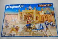 Playmobil 5837 Romano Gladiador Arena listados como se utiliza de daño leve con caja
