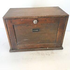 Engineers Tool Box 1950's vintage