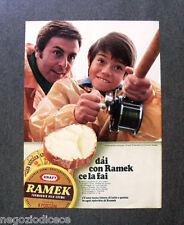 [GCG]  O042 - Advertising Pubblicità - 1969 - RAMEK FORMAGGIO
