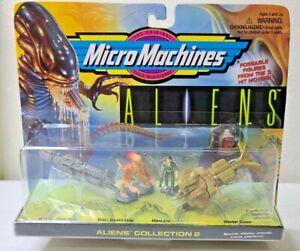 Micro Machines Aliens 1996 Collection 2 GALOOB Xenomorph Dog Burster Ripely