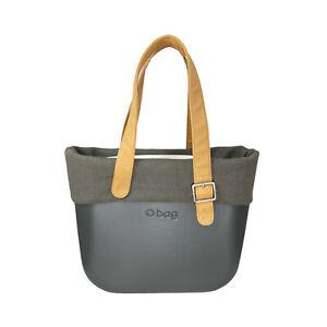 Borsa Componibile Donna O BAG Grigio/Beige/Bianco Misura 33X31X11 Cm