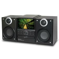 """Supersonic Hi-Fi Audio Micro Bluetooth System DVD Player & TV Tuner with 7"""" LCD"""