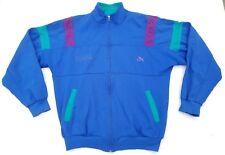Puma full-zip track jacket women size 5 unisex M vintage Bulgaria blue/purple