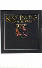 Kenny Rogers & Dottie West Classics 1977 Liberty Cassette