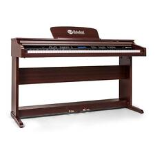 88 KEY ELECTRIC MIDI KEYBOARD PIANO 7 1/4 OCTAVES LCD DISPLAY - BROWN WOOD GRAIN