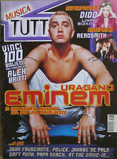 TUTTO 3 2001 Eminem Aerosmith Daft Punk John Frusciante Giorgia At The Drive-In