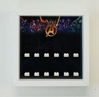 Minifigures Display Case Frame Lego Marvel Avengers Endgame Figures mini figs