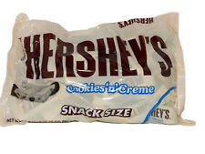 Hersey's cookies 'n' Cream Mini Snack Size Chocolate 905g Large Bag