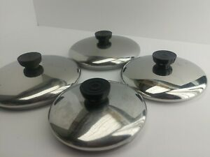 "Revere Ware Lids Replacements Stainless Steel 5,5.5,6,7,12""  YOU CHOOSE (5C2)"