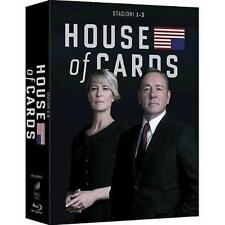 Blu Ray HOUSE OF CARDS Stagione 1-2-3  (Box 12 Blu Ray Disc) ......NUOVO