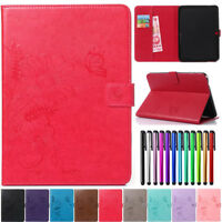 Wallet Card Magnetic Flip PU Leather Case Cover For Samsung Galaxy Tab Tablet