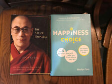 Lot Of 2 Happiness Books, Dalai Lama And Marilyn Tam , Used