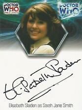 "Doctor Who 40th Anniversary: WA15 Elisabeth Sladen ""Sarah Jane"" Autograph Card"