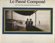 HENRI LARTIGUE LE PASSE COMPOSE 6X13 CENTRE NATIONAL DE LA PHOTOGRAPHIE 1987