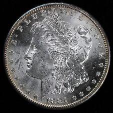 1881-S $1 Morgan Dollar UNSLABBED