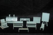 MARX 1950's Rex Mars Planet Patrol Space Academy Furniture Lot Tom Corbett RARE