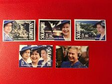 SOLOMON ISLANDS 1992 MNH QUEEN ELIZABETH 2 ACCESSION 40 YEARS ROYALTY