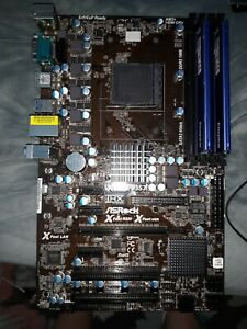 ASRock 970DE3/U3S3 AM3+ AMD ATX Motherboard & 8GB (2x4GB) DDR3-1333 Kingston RAM