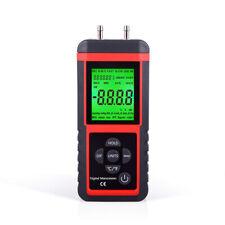 Digital Manometer Differential Pressure Meter Gauge Air Pressure Test  ±2.999Psi