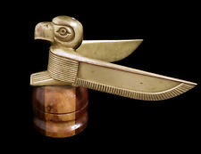 20s 30s 10s 40s Pacific Northwest Eagle Bird Totem Hood Ornament Mascot Antique