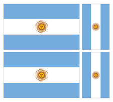 Argentina MiniPole Car Window Flag NEW