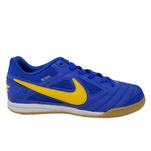 Nike SB Gato Shoes AT4607 400 Blue Yellow Skateboard Mens Size 9.5