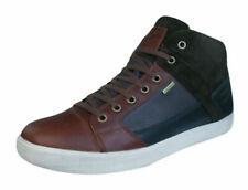 Detalles de Hombres Geox Zapatillas U Clemet B Zapatos Ante Azul Envío Mundial