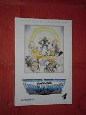 OVERMAN KING GAINER N° 1- D-VISUAL-d/books-yoshiyuki tomino e yoshihiro nakamura