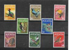 Malasia Fauna Aves Serie del año 1965 (ED-717)