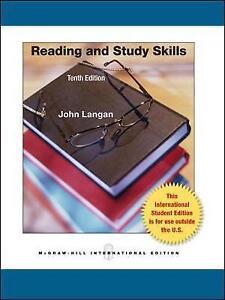 Reading and Study Skills (Int'l Ed) by John Langan (Paperback, 2012)