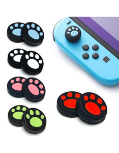 Paw Print Nintendo Switch Controller Thumb Grips Pads Analog Cover Pair