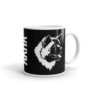 Akita Mug, Dog Coffee Mug, Akitas Japanese American Dogs Ceramic Drink Cup