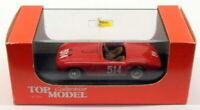 Top Model 1/43 Scale TMC113 - Ferrari 166MM - #514 Miglia 1953