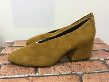 Vagabond Shoemaker ladies shoes mustard brown leather suede size 41/uk 7.5