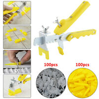 The New Tile Flooring Wall Leveling Spacer Large System Pliers Tool Clips Wedges