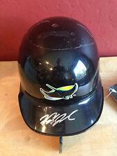 WADE TOWNSEND Autograph Baseball Mini Helmet ~ RIDDELL ~ Tampa Bay Rays