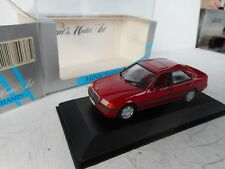"Minichamps Mercedes C 180 ""Esprit"" in Imperial Red inon 1:43 Mint Boxed"
