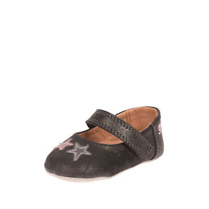 GEOX RESPIRA Leather Mary Jane Shoes EU 17 UK 1.5 US 2 Breathable Antibacterial