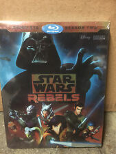STAR WARS REBELS: THE COMPLETE SEASON 2 (Format: Blu-ray) NEW Sealed