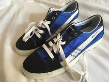 Diesel Only The Brave Shoes Suede Pumps Trainers D-String Low Rise 43eu, 9 uk