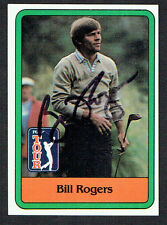 Bill Rogers #23 signed autograph auto 1981 Donruss Golf Trading Card