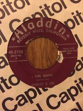 R&B SOUL 45 / SHIRLEY & LEE / I FEEL GOOD / NOW THAT'S IT'S OVER / ALADDIN 3338