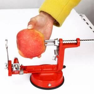 VEGETABLE & FRUIT PEELER APPLE SLICER POTATO CORER CUTTER 3 IN 1 KITCHEN MACHINE