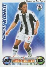 KOREN # SLOVENIA WEST BROWMICH MELBOURNE CITY.FC CARD PREMIER LEAGUE 2009 TOPPS