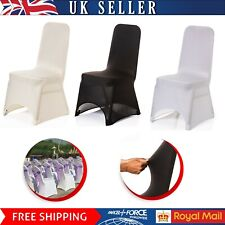 100pcs Dining Chair Covers Wedding Party Home Seat Slip Covers Stretch Spandex