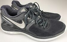 Nike Lunareclipse 4 Mens Running Shoes Size US 14 Black/Gray 629682-001 Lunarlon